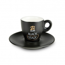 Black of Italy espresso cup