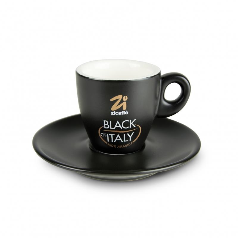 Black of Italy espresso cup Espresso cups | Zicaffe.com