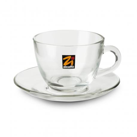 Tazza cappuccino in vetro