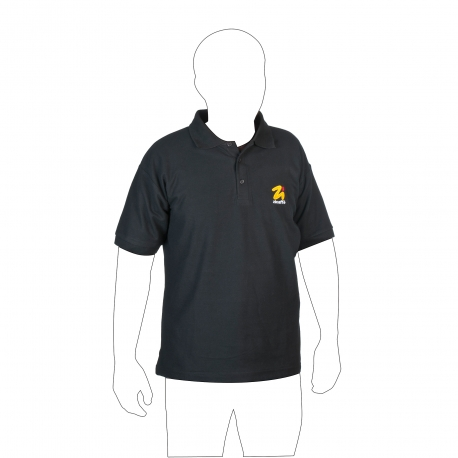 Short sleeved cotton polo