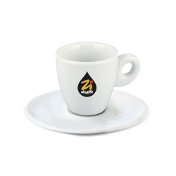 Tazzina caffè calice bianca