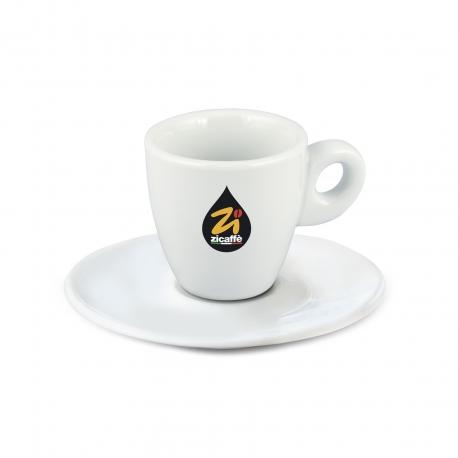 White goblet espresso cup
