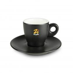 Tazzina caffè calice nera