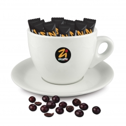 Maxi cup holder and pralines pack